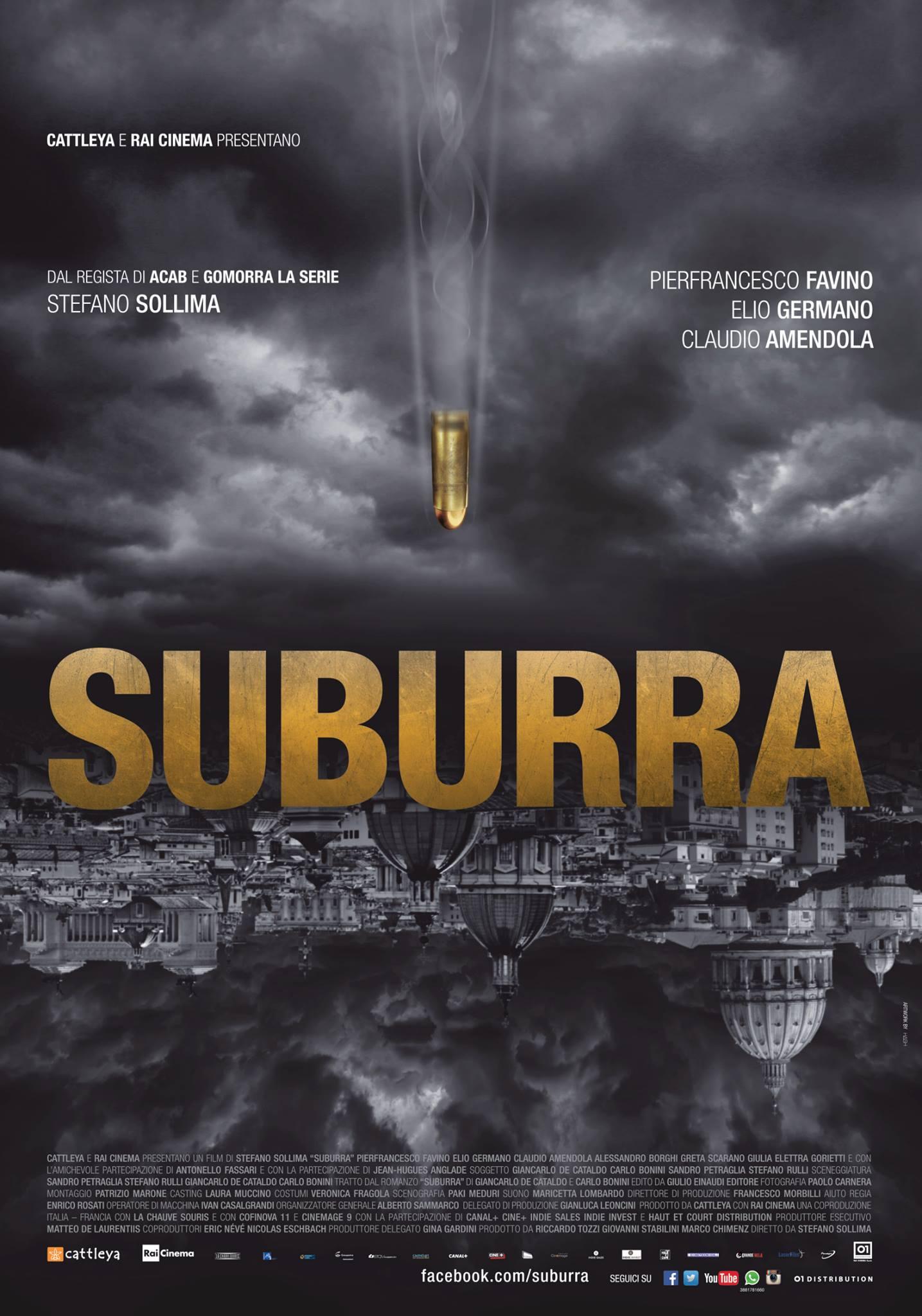 Il 14 ottobre esce Suburra