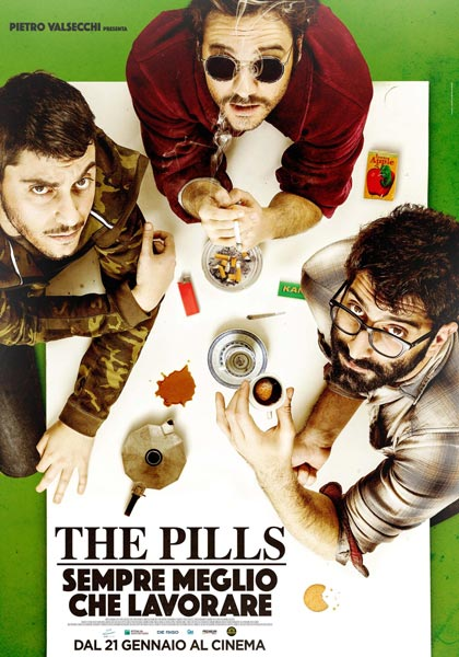 "Planet Film: Andrea Dolcini e Lorenzo Scacchi in """"The Pills"". Guarda il teasar trailer."