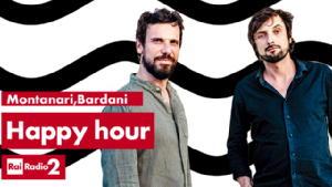 """Alessandro Bardani e Francesco Montanari su Radio2 """"Happy hour"""" tutti i giorni alle 19.45"""