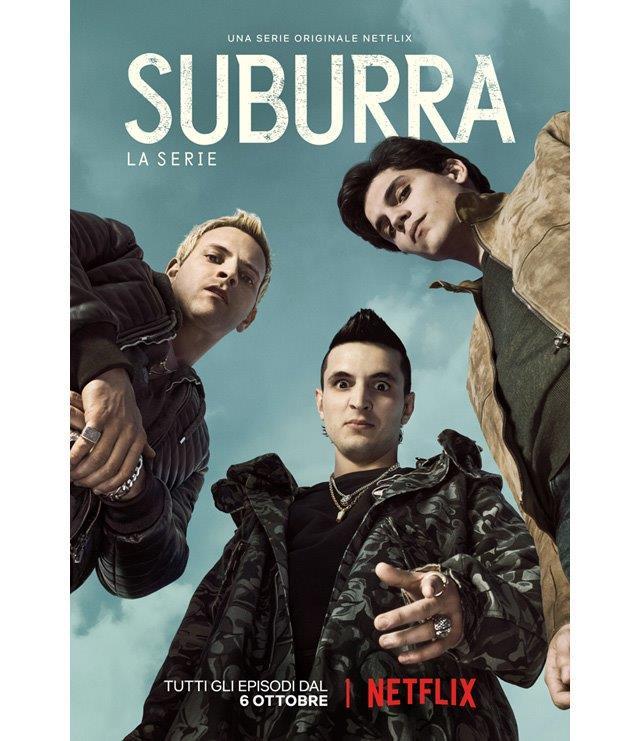 SUBURRA: la serie – dal 6 Ottobre su Netflix!