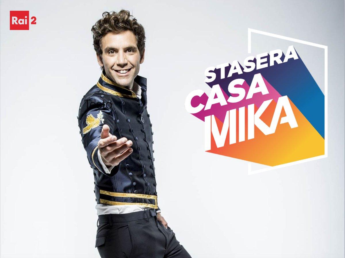 "Roberta Margiotta e Francesco Gheghi in ""Stasera Casa Mika"""