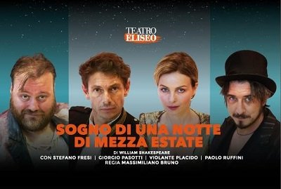 """Tiziano Scrocca in """"Sogno di una notte di mezza estate"""" al Teatro Eliseo"""