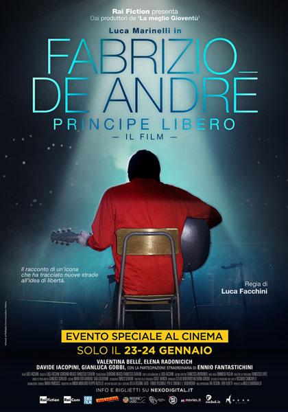 """Daniel Terranegra e Antonio Tintis su """"Fabrizio De Andrè-Principe Libero"""""""
