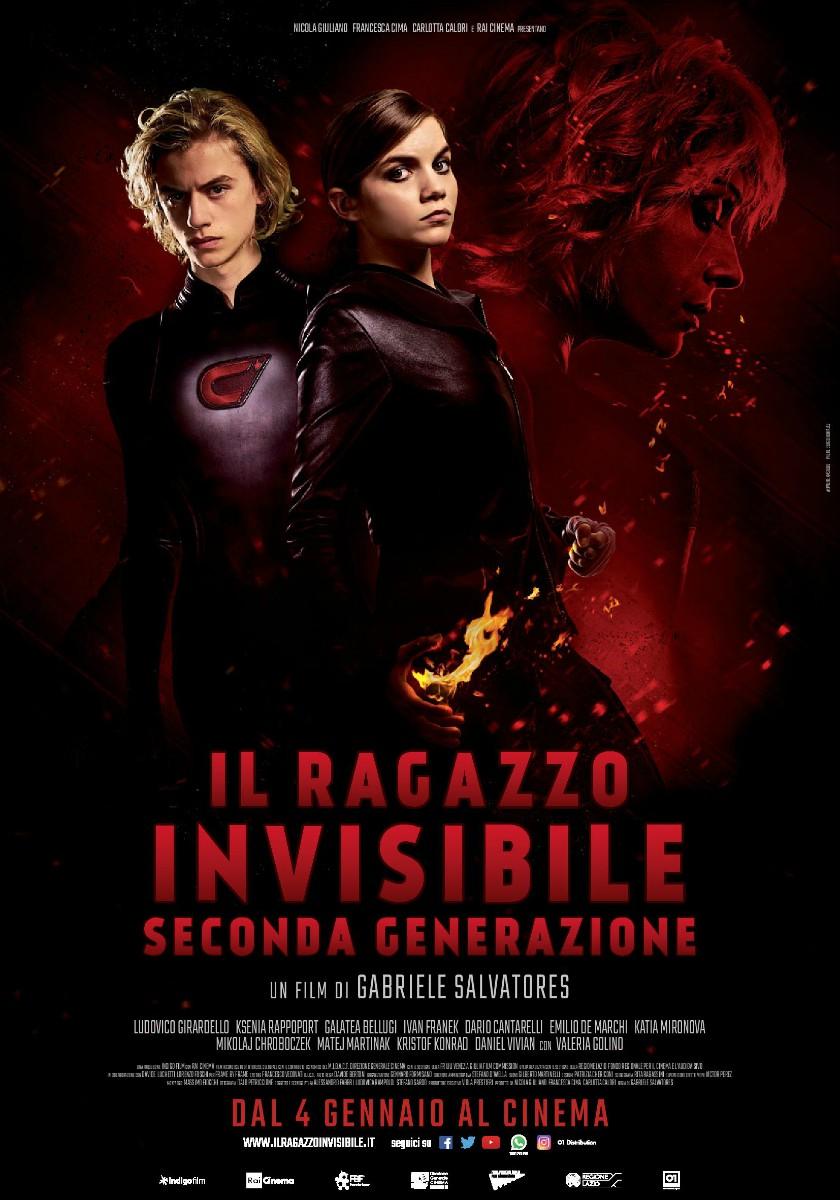 """Filippo Valese in """"Il ragazzo invisibile – Seconda generazione"""""""