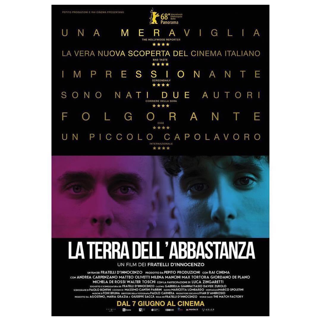 """""""La terra dell'abbastanza"""" con Matteo Olivetti, trailer ufficiale & data di uscita"""