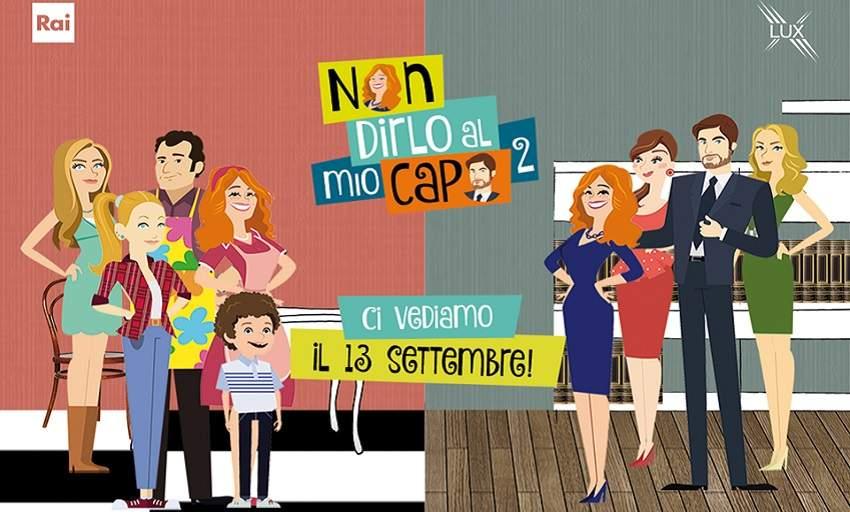"""Saul Nanni e Beatrice Vendramin nella seconda stagione di """"Non dirlo al mio capo"""""""