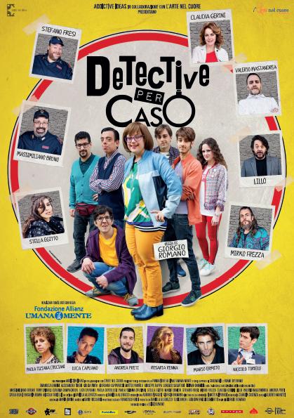 """Mirko Frezza nel film """"Detective per caso"""""""