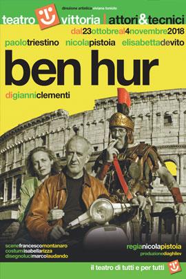 """ELISABETTA DE VITO in """"Ben Hur"""" al teatro Vittoria"""