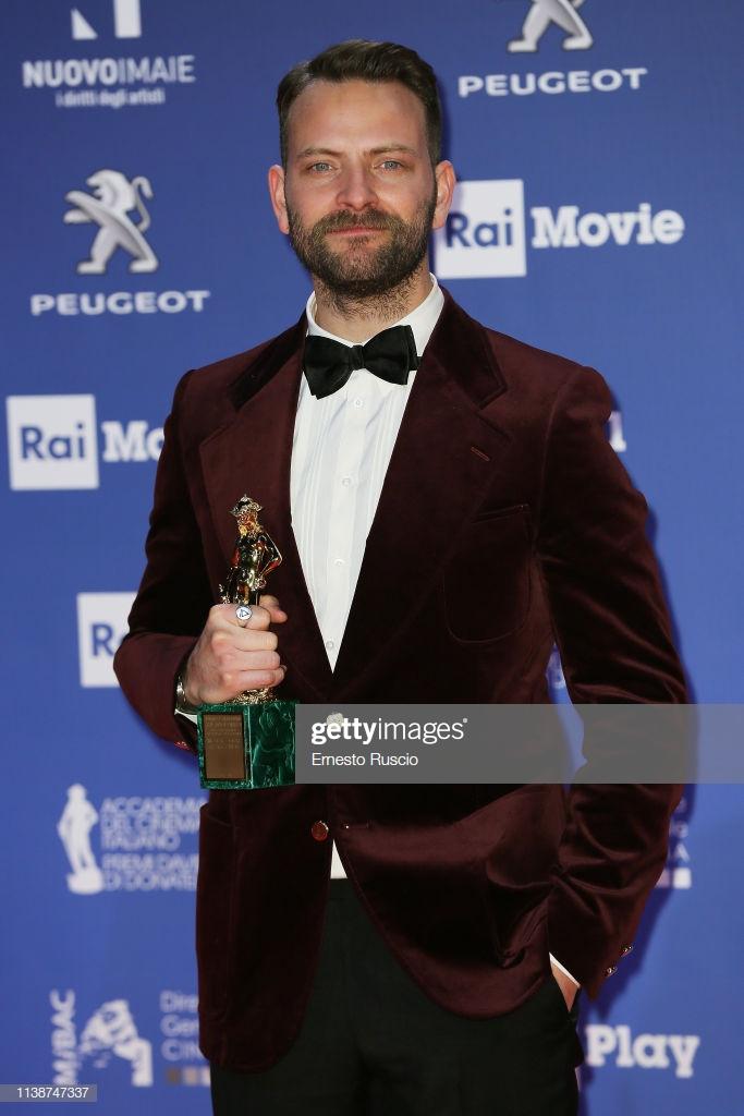 Alessandro Borghi vince il David Di Donatello come migliore attore protagonista!