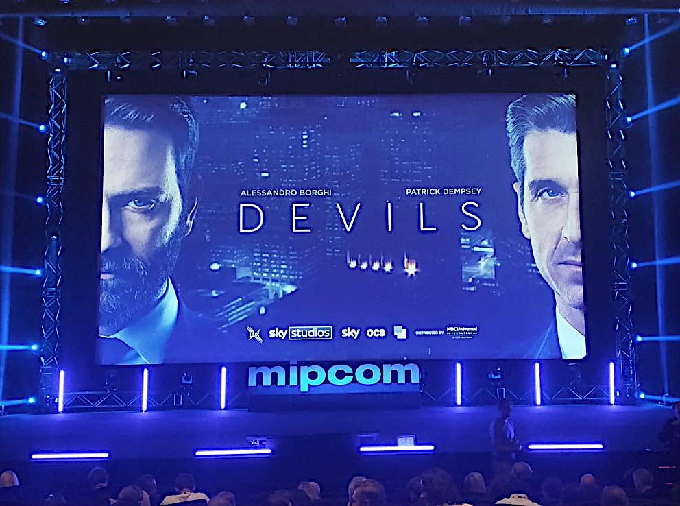 """""""DEVILS"""" con Alessandro Borghi in anteprima al MIPCOM"""