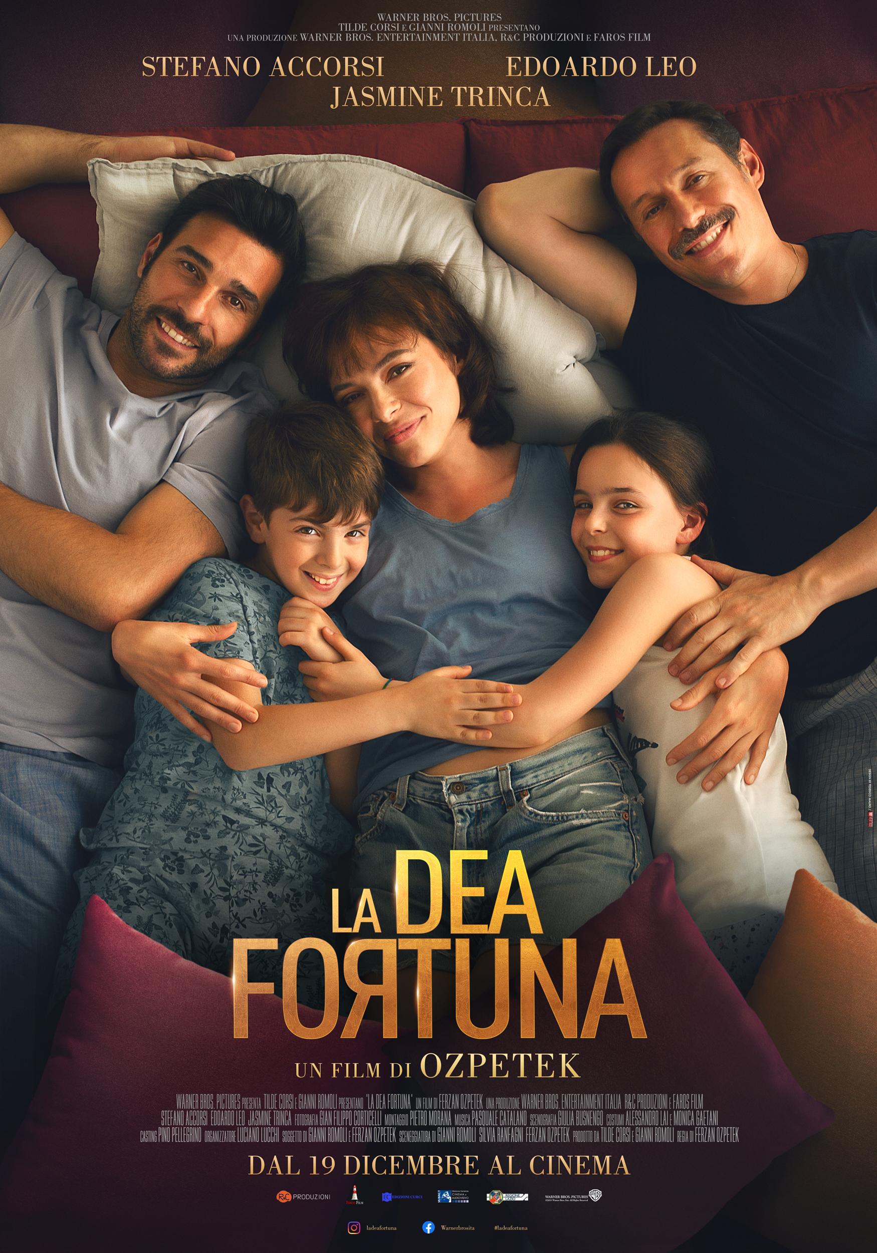 """Edoardo Brandi e Cristina Bugatty nel nuovo film di Ferzan Ozpetek """"La Dea fortuna"""""""