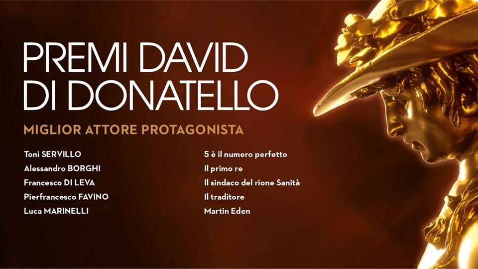 Alessandro Borghi candidato come migliore attore ai David di Donatello