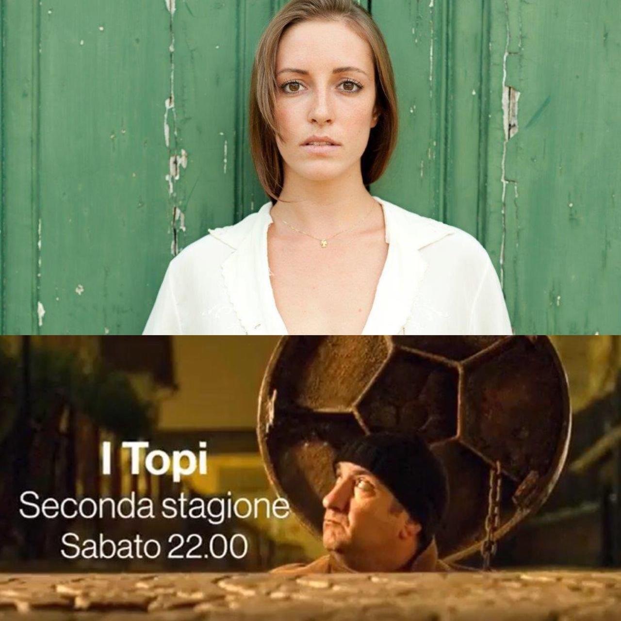 """Cecilia Napoli nel cast de """"I Topi 2"""""""