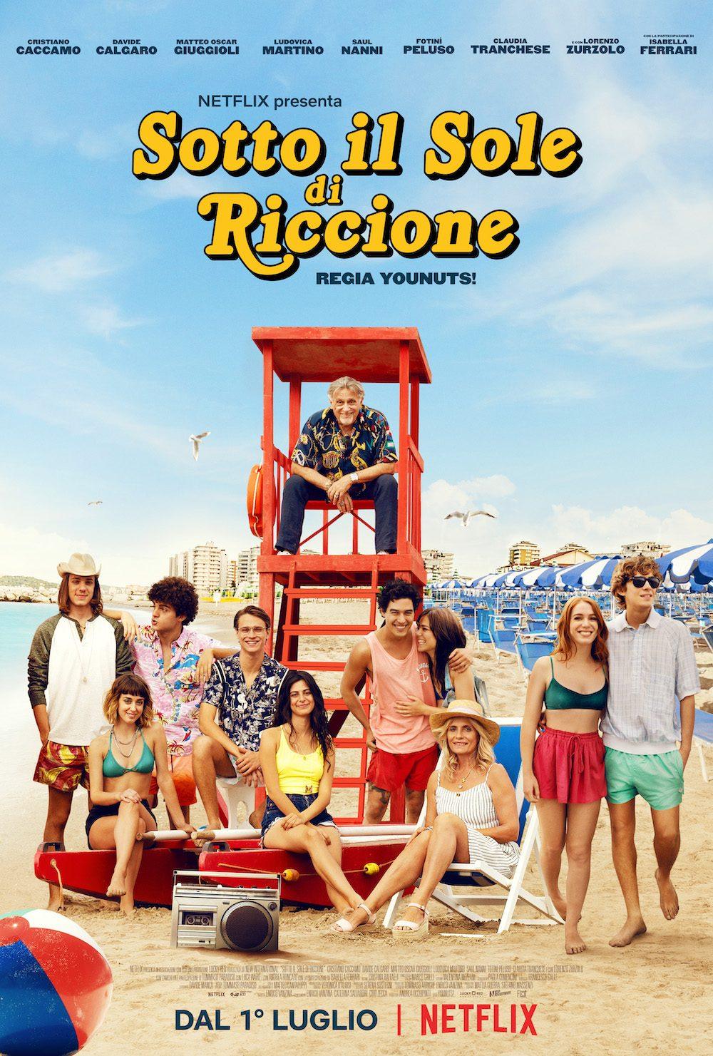 """""""sotto il sole di Riccione"""" da oggi in streaming su Netflix"""