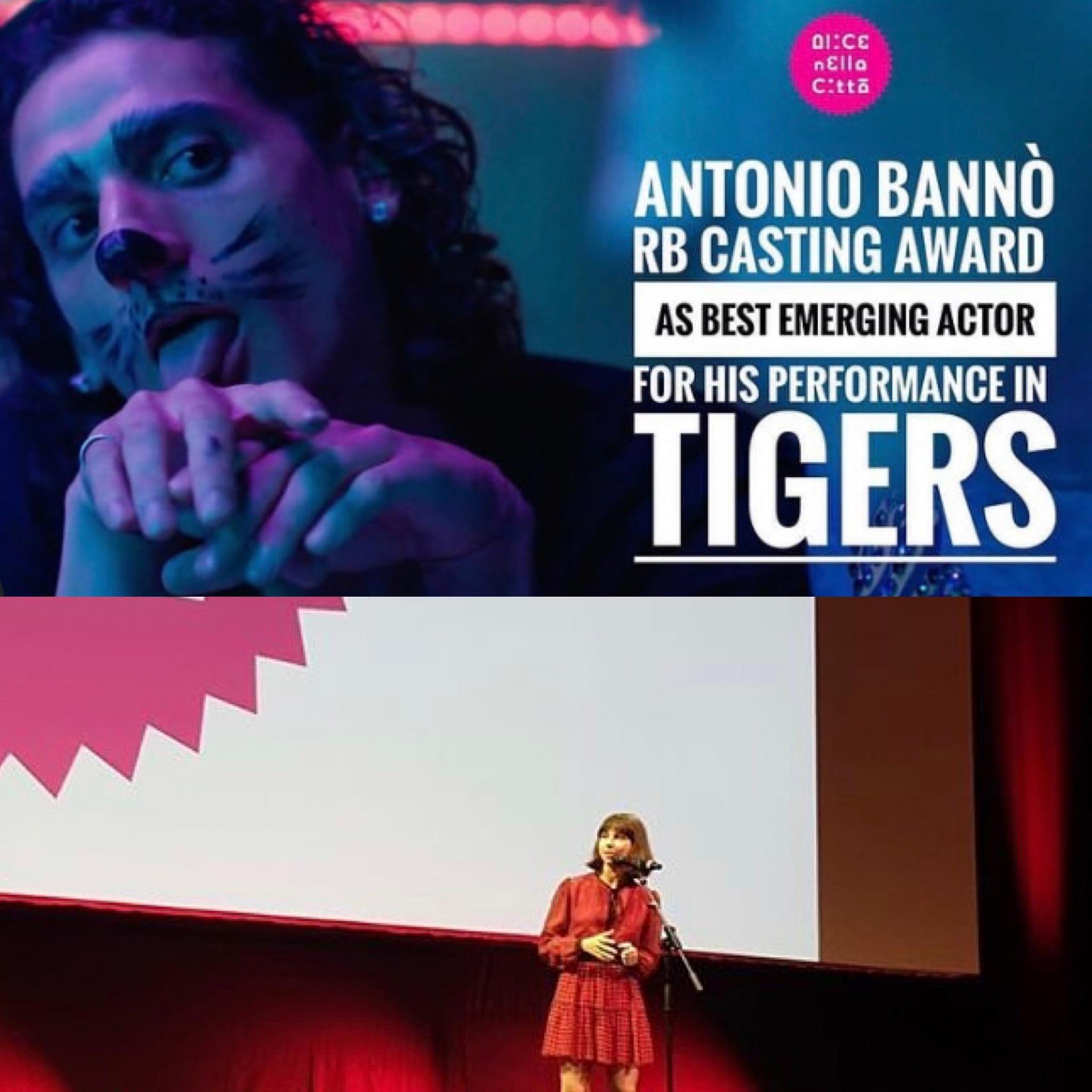 Antonio Bannò e Ludovica Francesconi premiati ad Alice nella Città