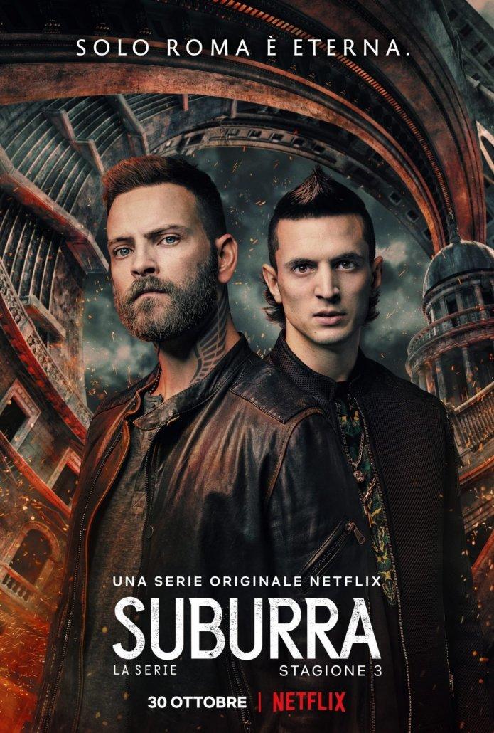 Suburra 3 – da oggi disponibile su Netflix